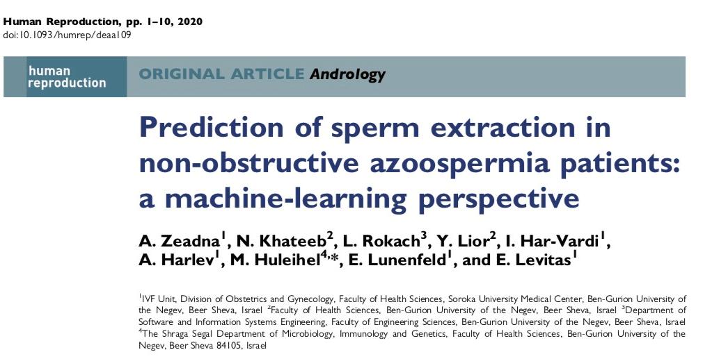 tese yapmadan sperm analizini yapay zeka ile yapmak